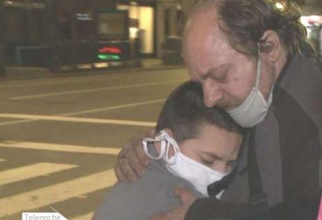 Viudo y sin trabajo por la crisis, duerme en la calle con su hijo de 10 años
