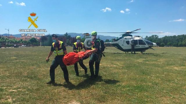 Aparece el cadáver del montañero desaparecido en Riofrío
