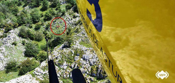 Rescatado un montañero de 70 años herido tras sufrir una caída