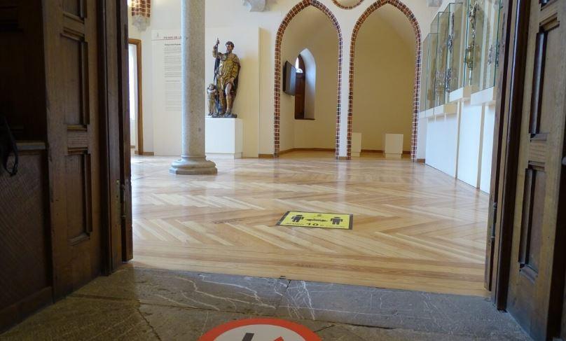 Palacio de Gaudí en Astorga señales
