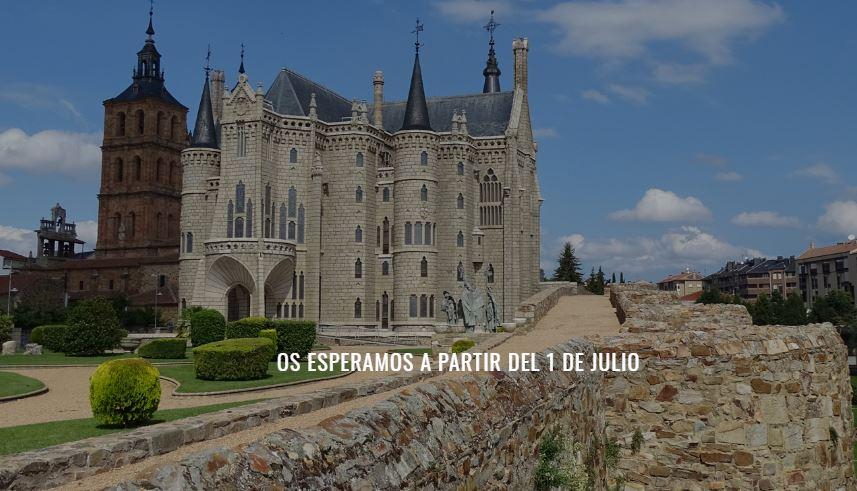 Palacio de Gaudí en Astorga reapertura