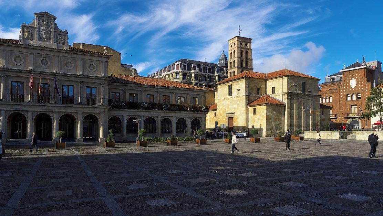 Plaza de san marcelo corte de agua