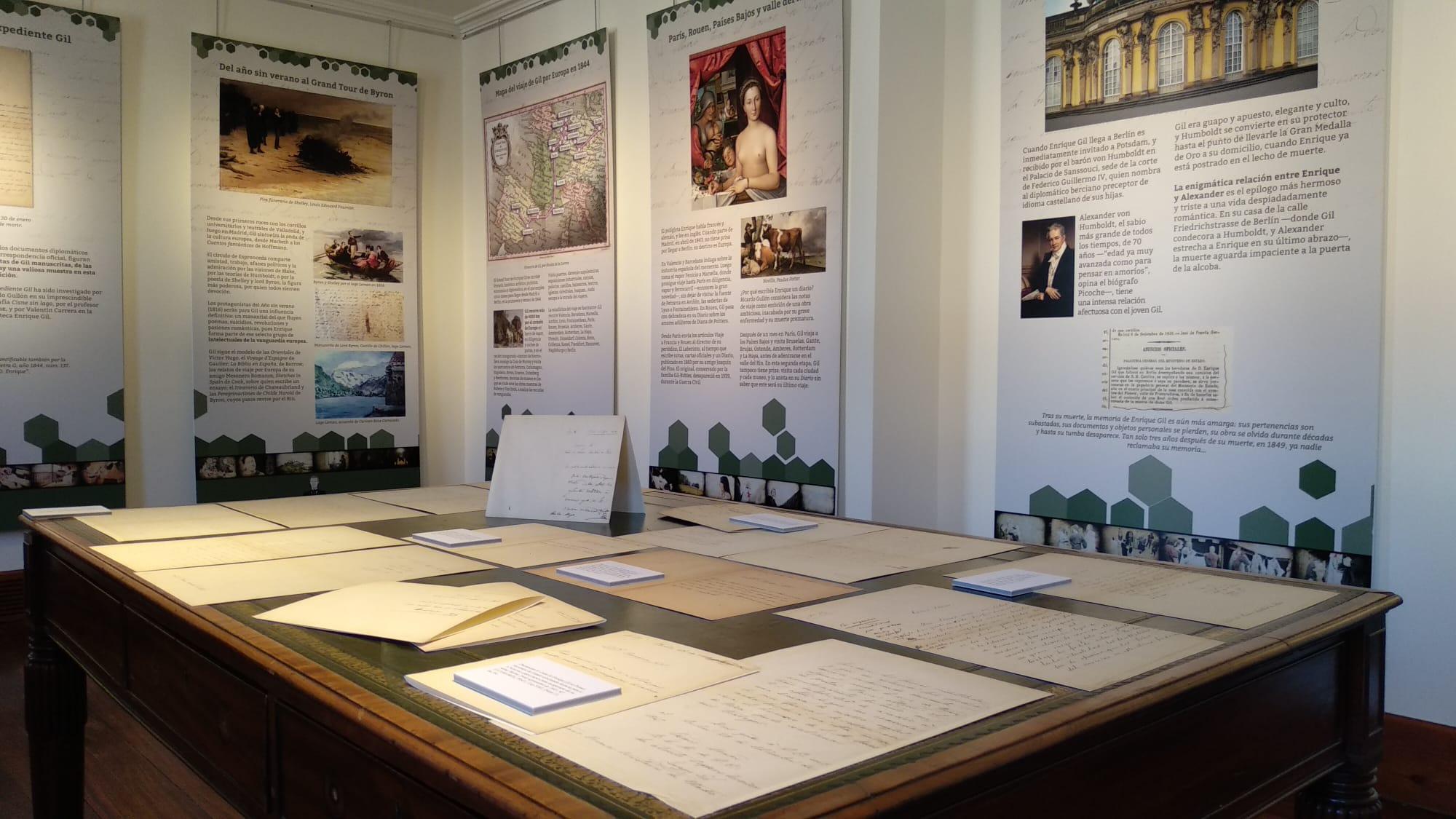 Gran exposición de Enrique Gil en Casa Botines