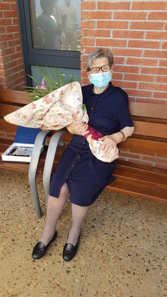 Florinda Blanco, la leonesa que ha cumplido 100 años