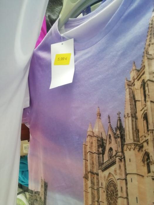 camiseta ciudad de León en carrefour