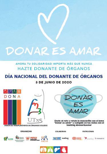 Mañana es el día internacional del donante de órganos