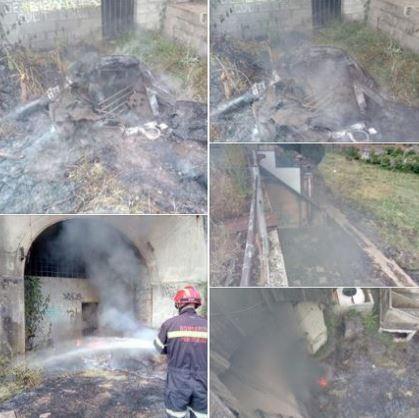 Los bomberos advierten del riesgo de incendios por las altas temperaturas