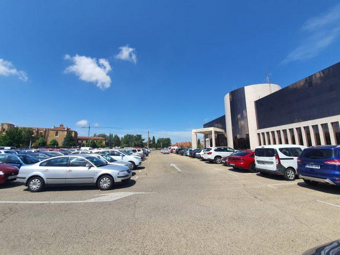 nueva zona ORA en León en el aparcamiento de la Junta (1)