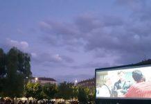 Éxito absoluto en la primera sesión del cine de verano en León