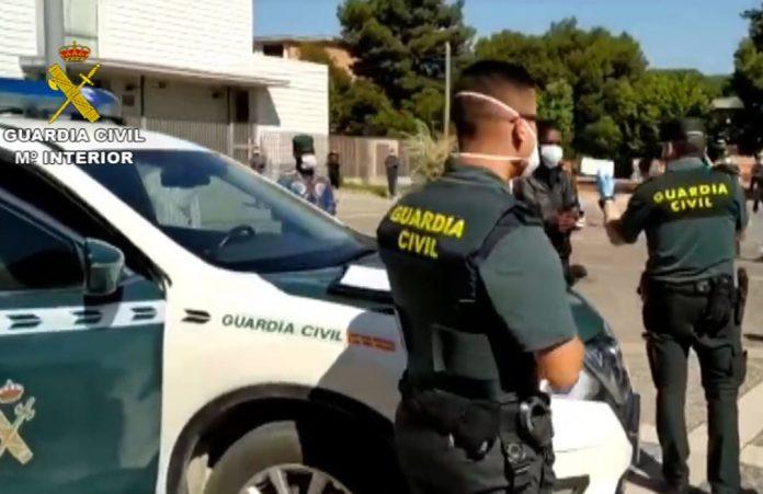 Guardia civil cadáver mujer