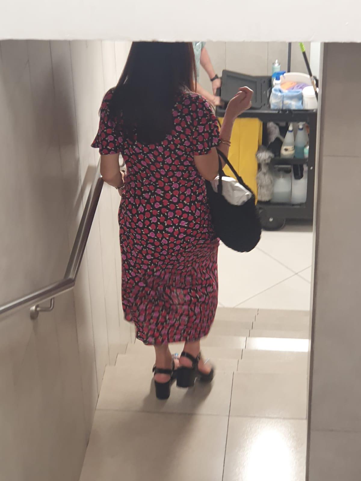 Una mujer se orina encima en Mercadona de Padre Isla