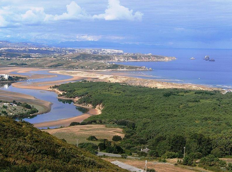 Playa de Valdearenas, Cantabria