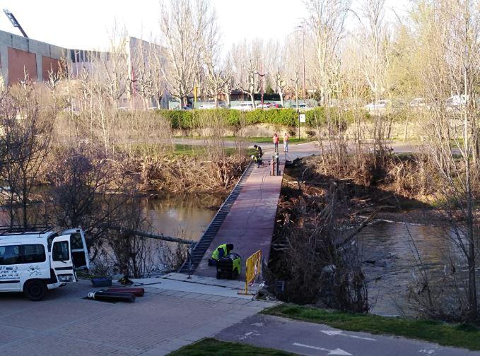 Río Bernesga de león