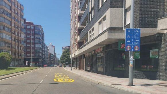 La avenida Alcalde Miguel Castaño el atascadero de León a 20 km/h