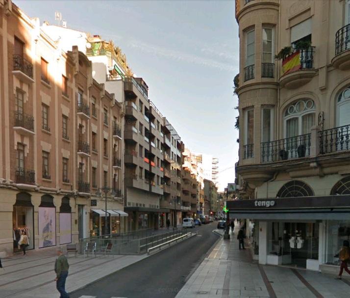 Tremendo susto en la calle Alcázar de Toledo por el despiste de una vecina
