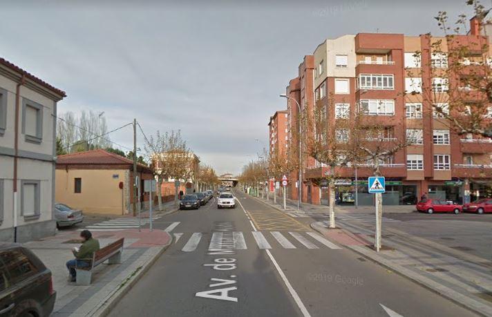 corte de carretera en la avenida mariano andrés