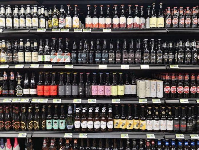 cervezas supermercado