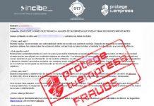 fraude correo empresas alerta incibe