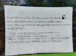 El cartel de una tienda que provoca serios mareos a los leoneses