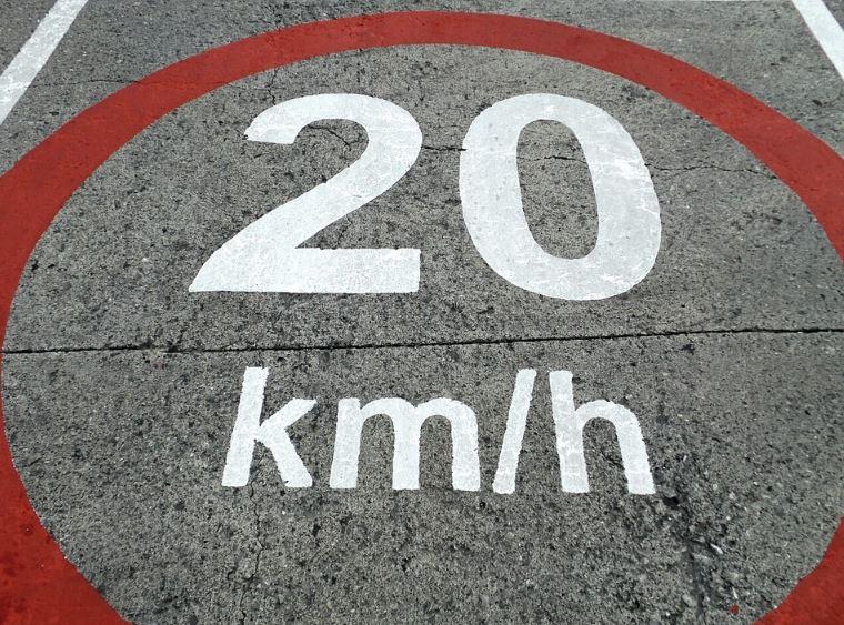 señal velocidad