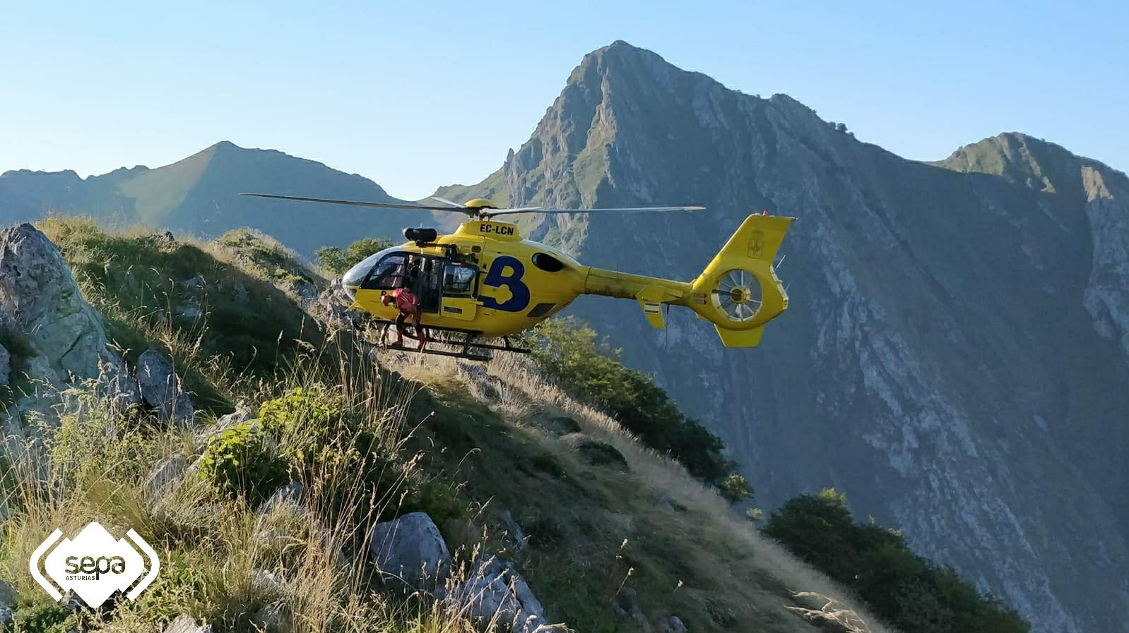 Rescatan a cuatro excursionistas desorientados de Ponga y Cabrales