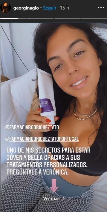Georgina Rodríguez y una farmacia de pornferrada