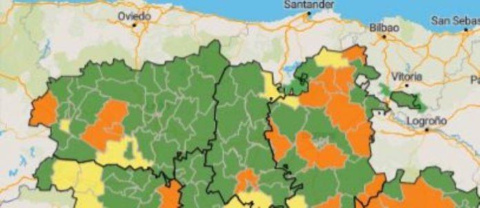 confinamientos provincia de león