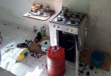 explosión fabero bombona de butano