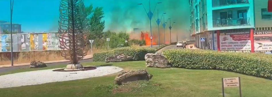 incendio León