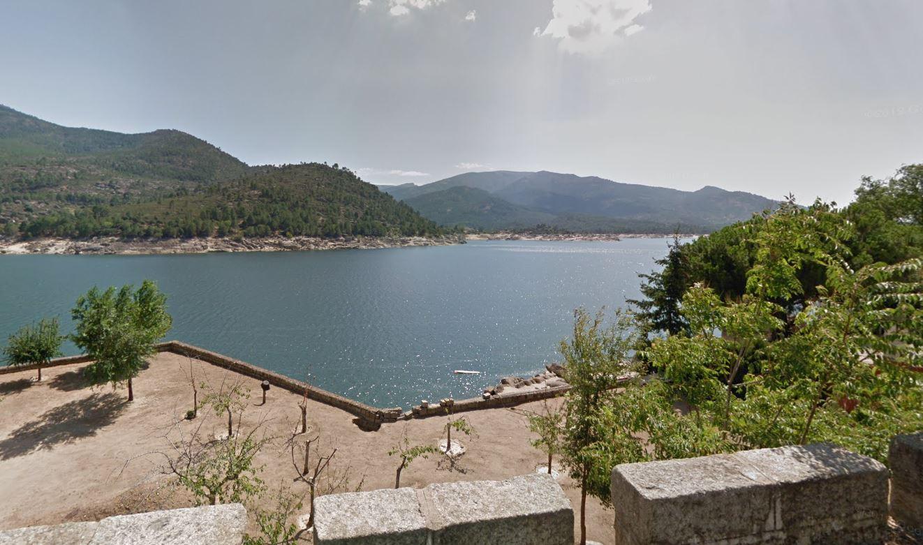 pantano del Burguillo donde se ha ahogado una menor de 16 años