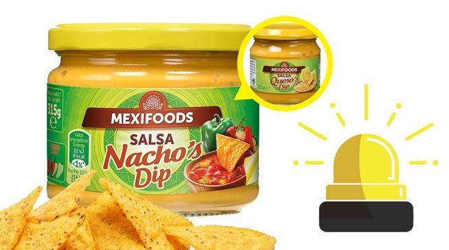 salsa de nachos que es salsa de queso