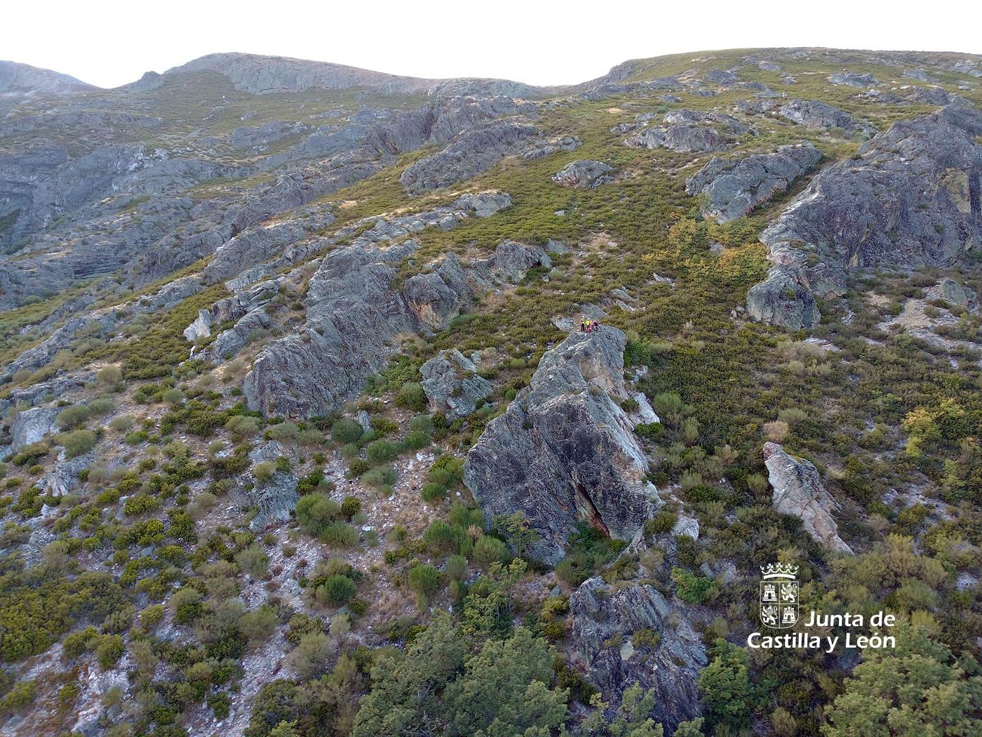 Rescatan a dos montañeros extraviados en el Pico Teleno en León