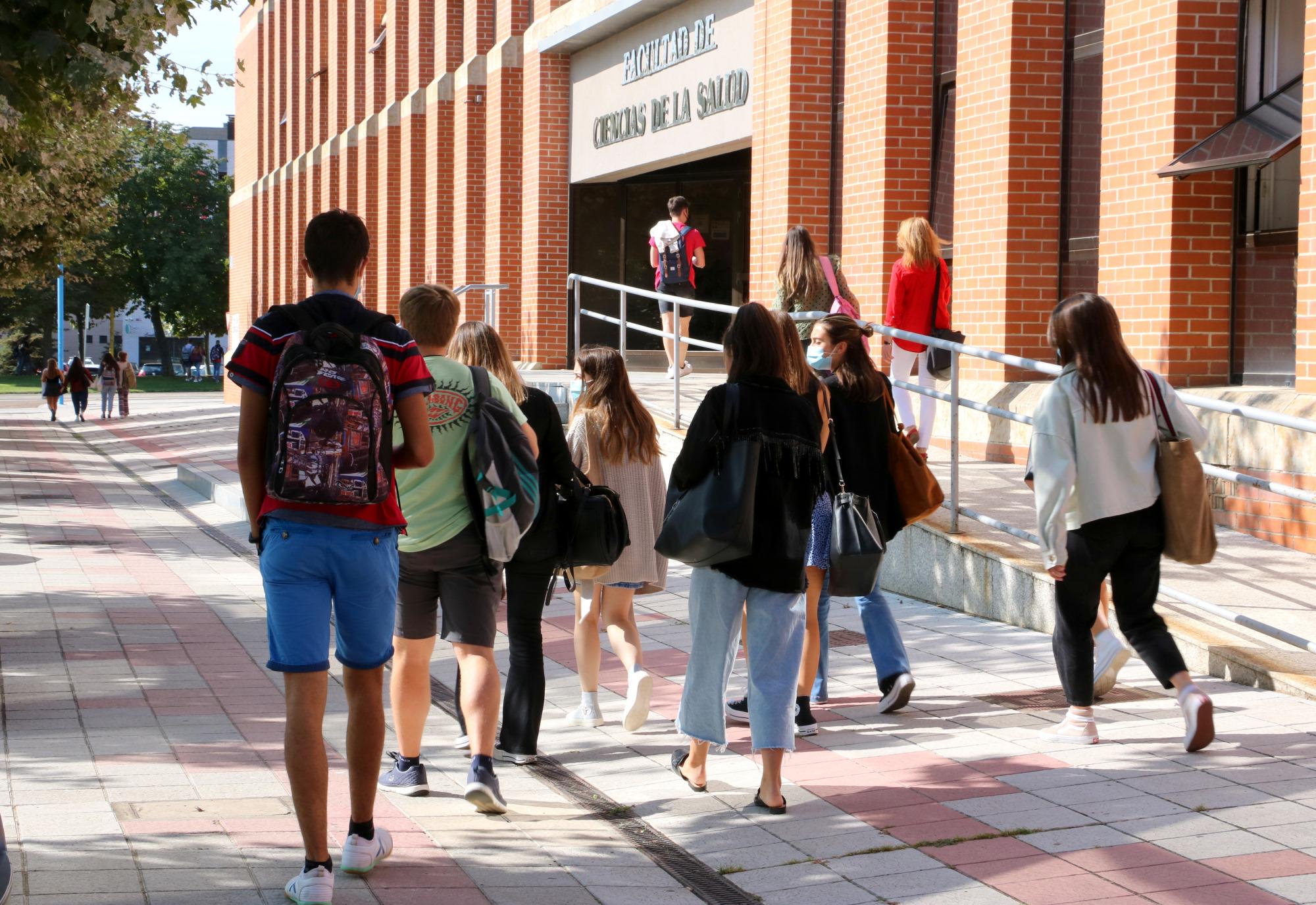 Universidad de León. Clases presenciales