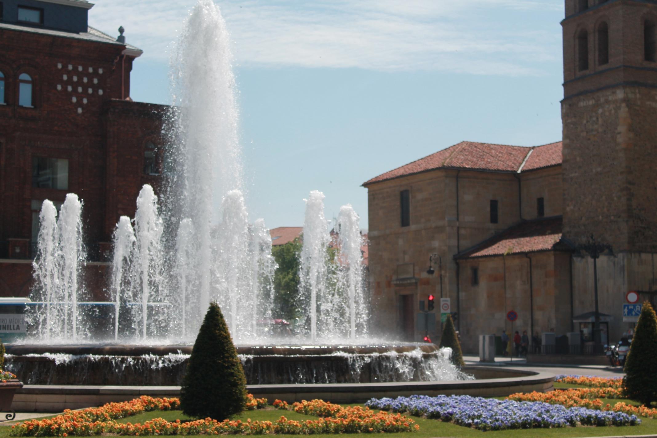 Fuente-de-Santo-Domingo verde