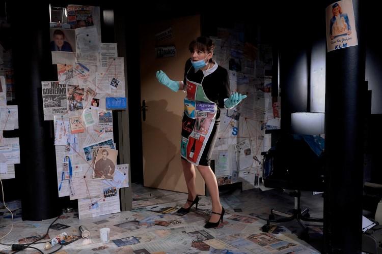 La obra de teatro 'Hombres que escriben en habitaciones pequeñas'