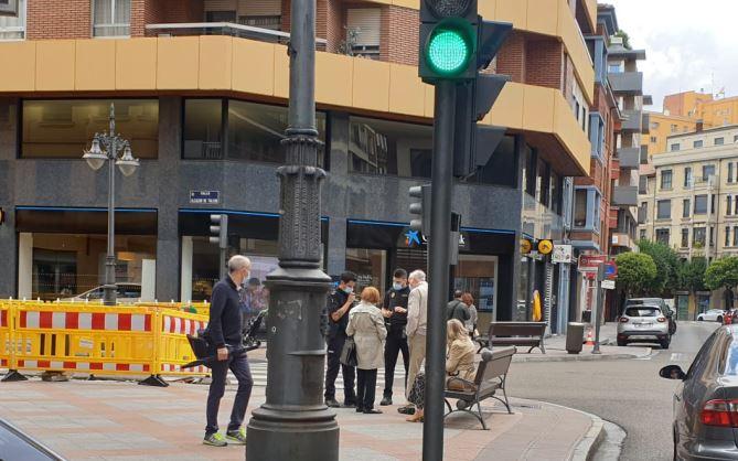 agresión a una mujer en León