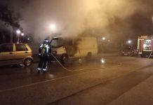 incendio furgoneta ponferrada