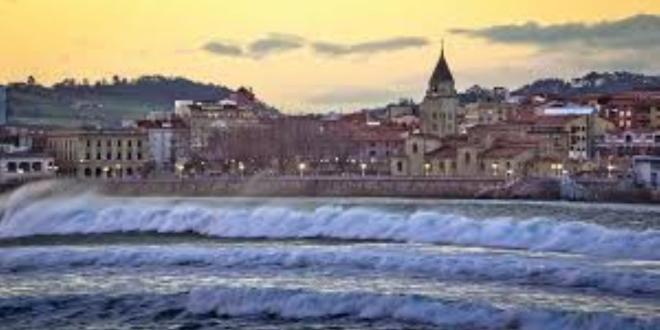 Gijón alerta naranja