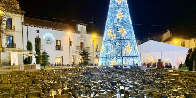 Navidad el León. imagen Twitter Ayuntamiento de León
