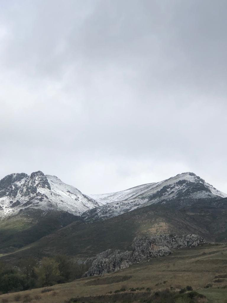 Nieve en Babia,Leon