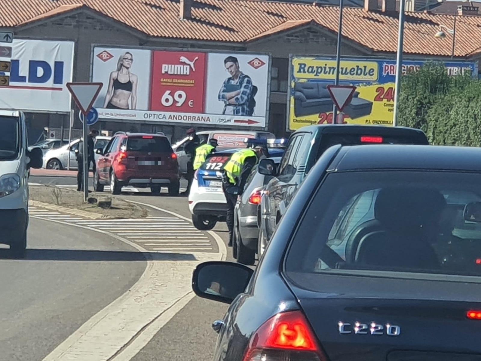 colas de coches por el cierre de León