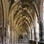 El claustro de la catedral de león