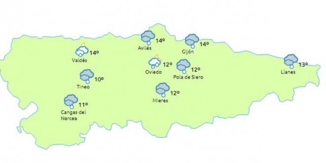 el tiempo en asturias