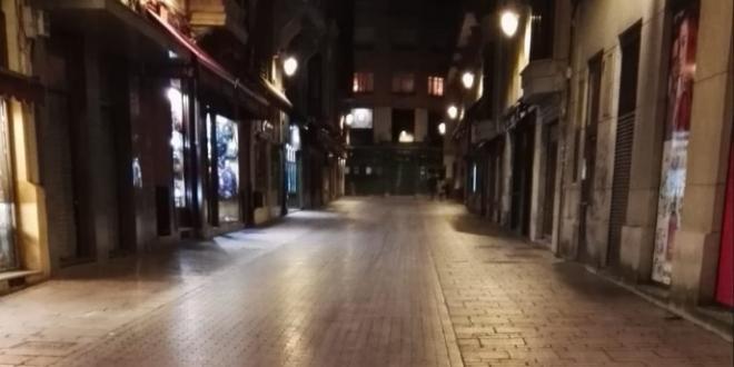 León Noche Toque de Queda