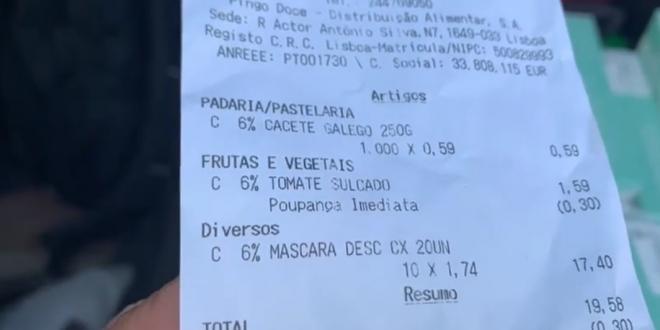 Precio mascarillas en Portugal y España