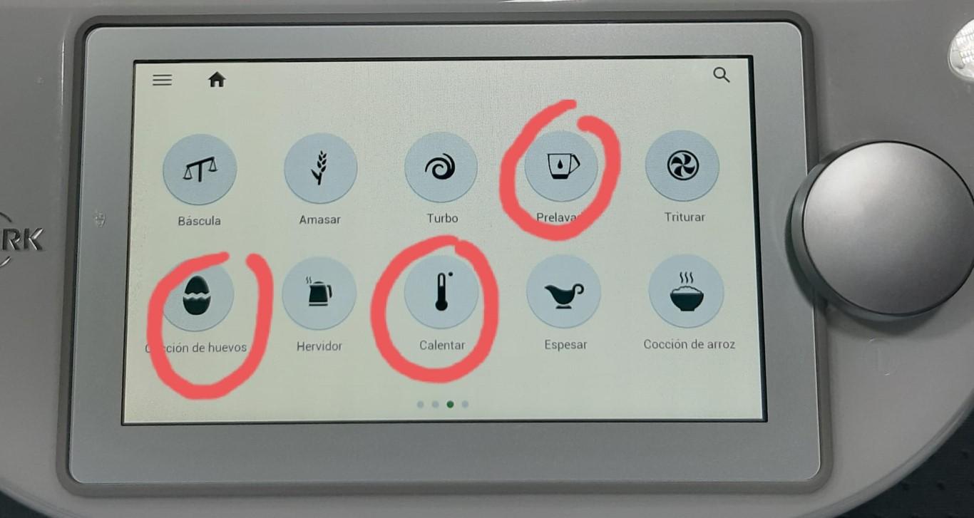 nuevas funciones Thermomix