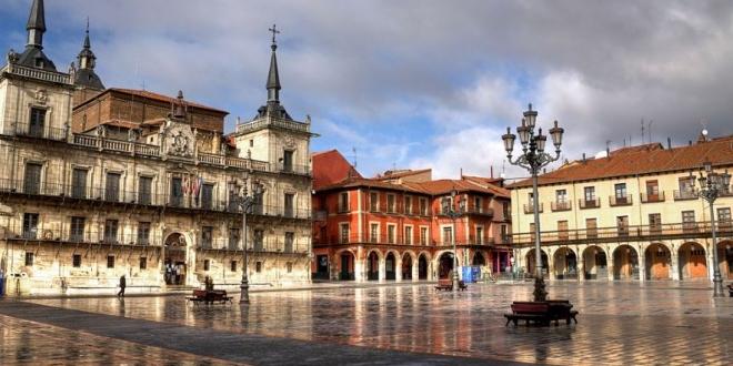 plaza mayor de León