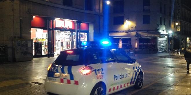 sanciones policía local