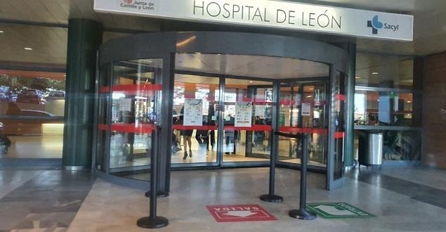 prohibidas las visitas al Hospital de León
