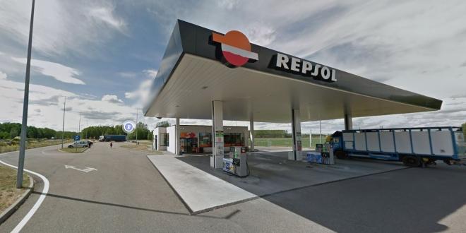 encerrado gasolinera